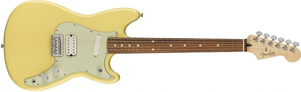 Fender Duo Sonic HS Electric Guitar - Canary Diamond