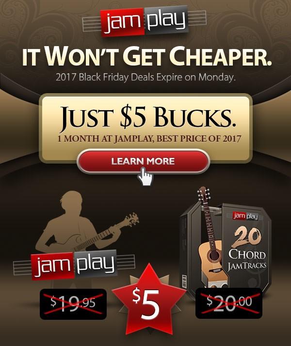 JamPlay Black Friday Week deal