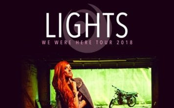 Lights 2018 Tour Poster