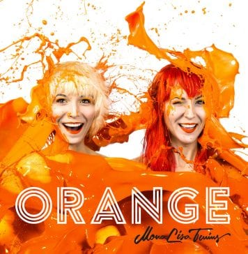 MonaLisa Twins Orange Art Work