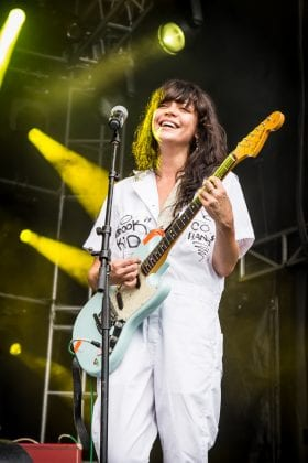 he Coathangers at PBR Fest Atlanta Oct 2017 - photo by Will Goicochea