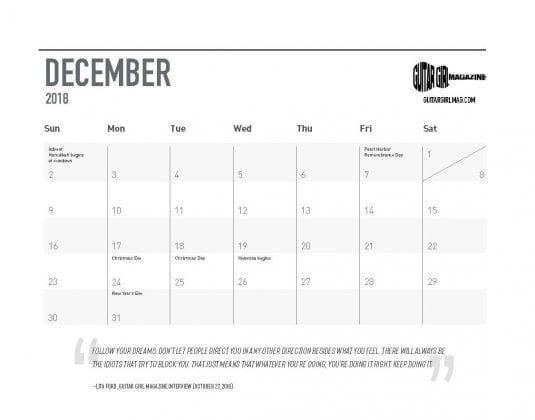 2018-guitar-girl-magazine-calendar-final-25-december