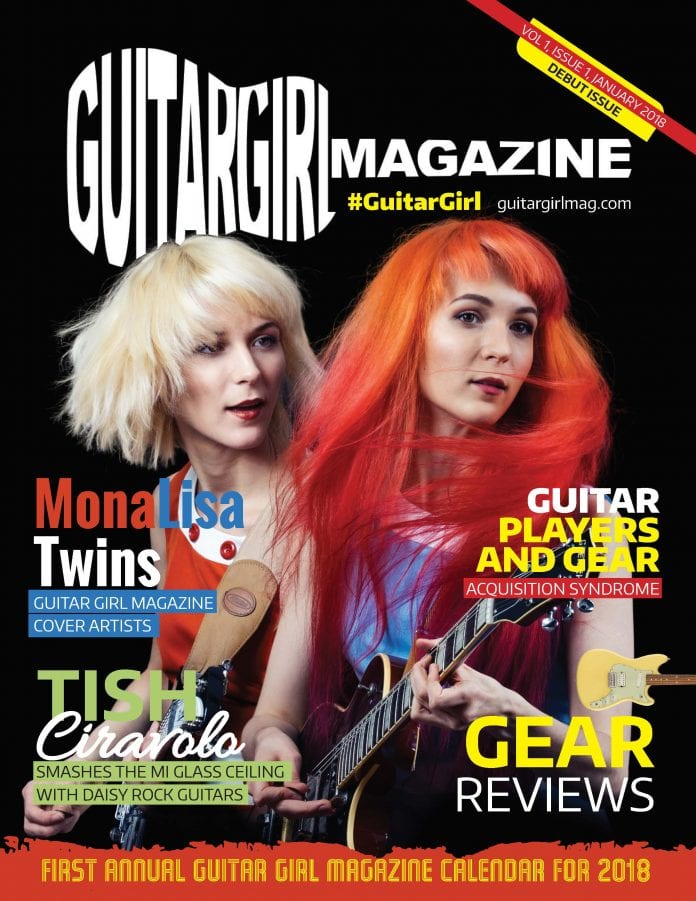 Guitar Girl Magazine Cover January 2018 FINAL