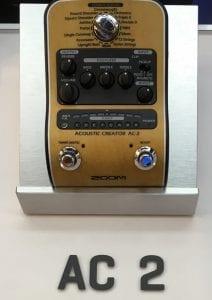 Zoom Acoustic Creator AC 2