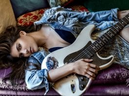 Ananya Birla Electric Guitar - Photo by Errikos Andreou