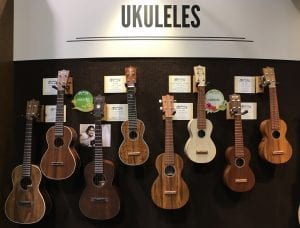 Martin Ukuleles at Winter NAMM 2018