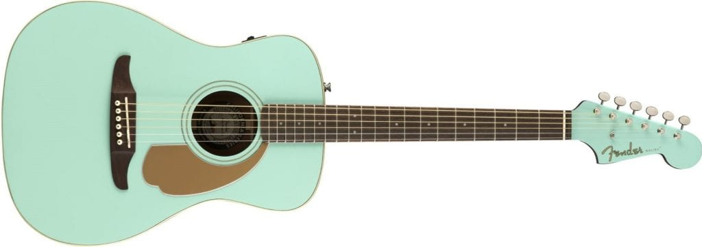 fender california series acoustic guitar
