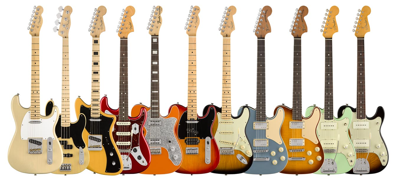 Fender makes the guitars people really want