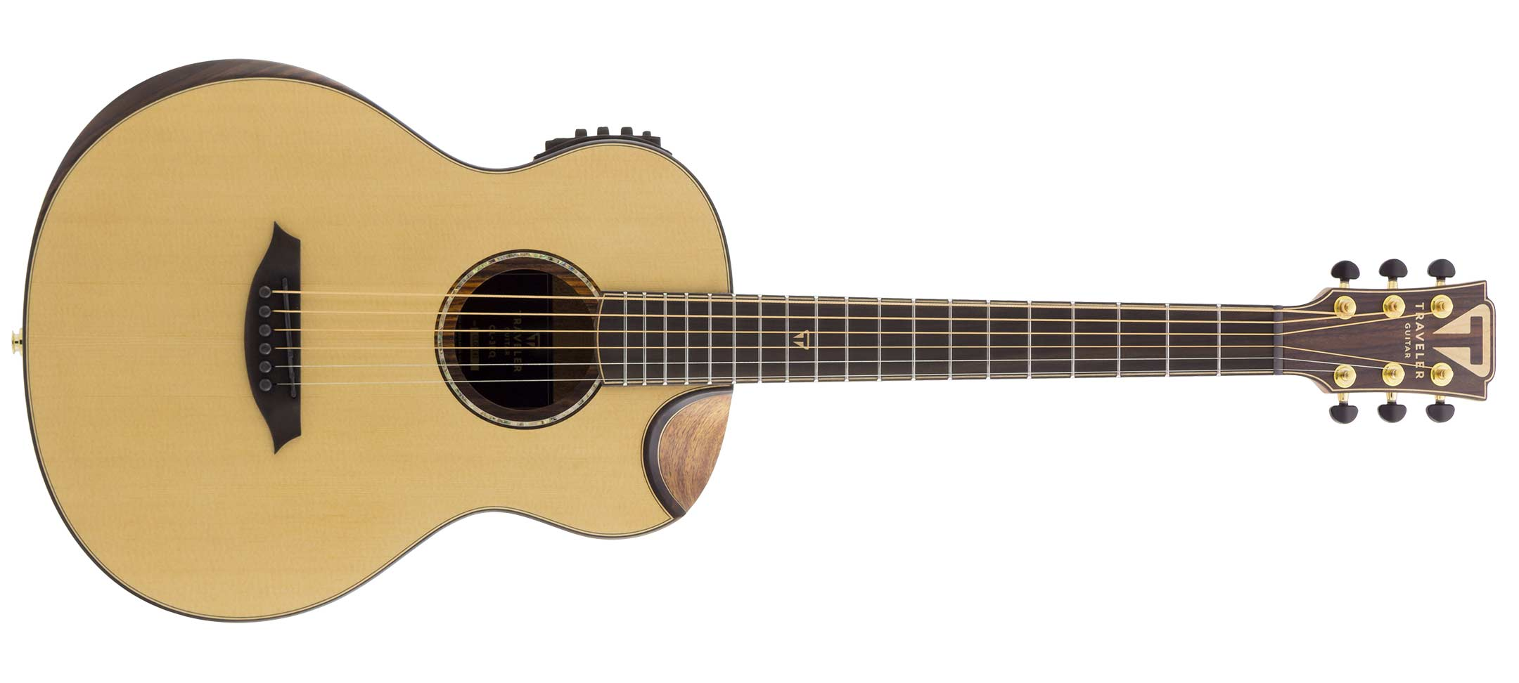 product review traveler cl 3eq acoustic electric guitar guitar girl magazine. Black Bedroom Furniture Sets. Home Design Ideas