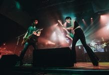 Halestorm performing live in Springfield, Missouri