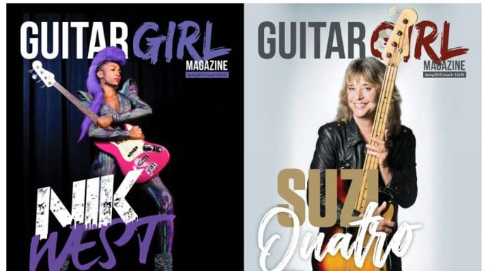 Guitar Girl Magazine Spring 2019 Magazine cover