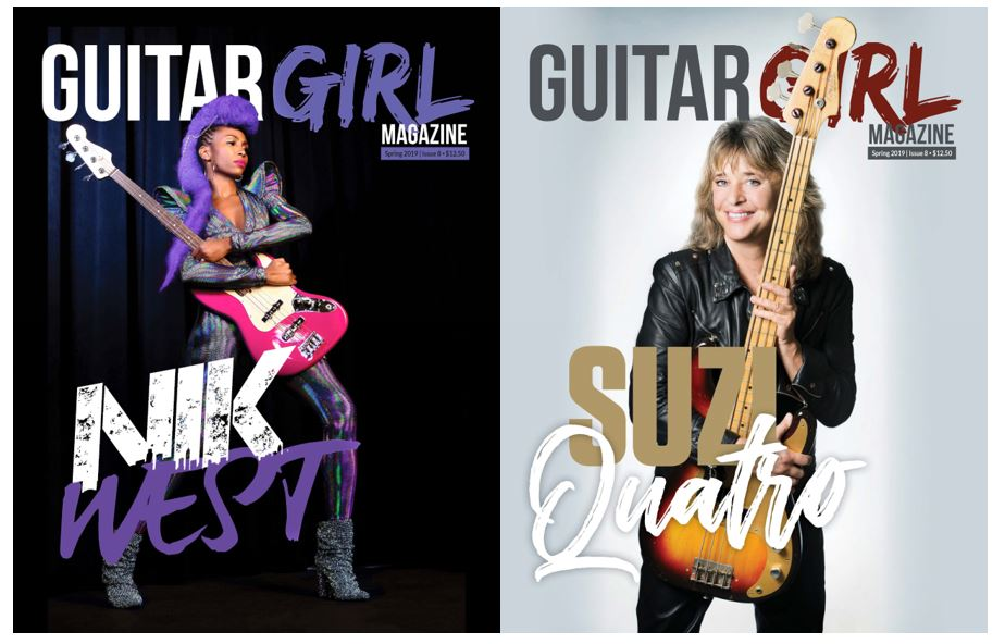 Guitar Girl Magazine Spring 2019 Magazine cover