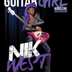 guitar girl magazine issue 8 cover with nik west