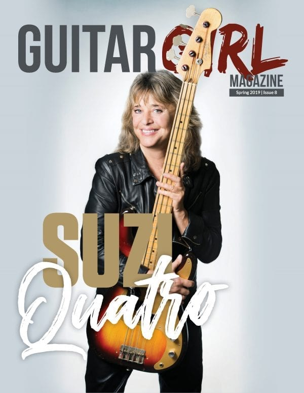 guitar girl magazine spring 2019 issue 8 suzi quatro cover
