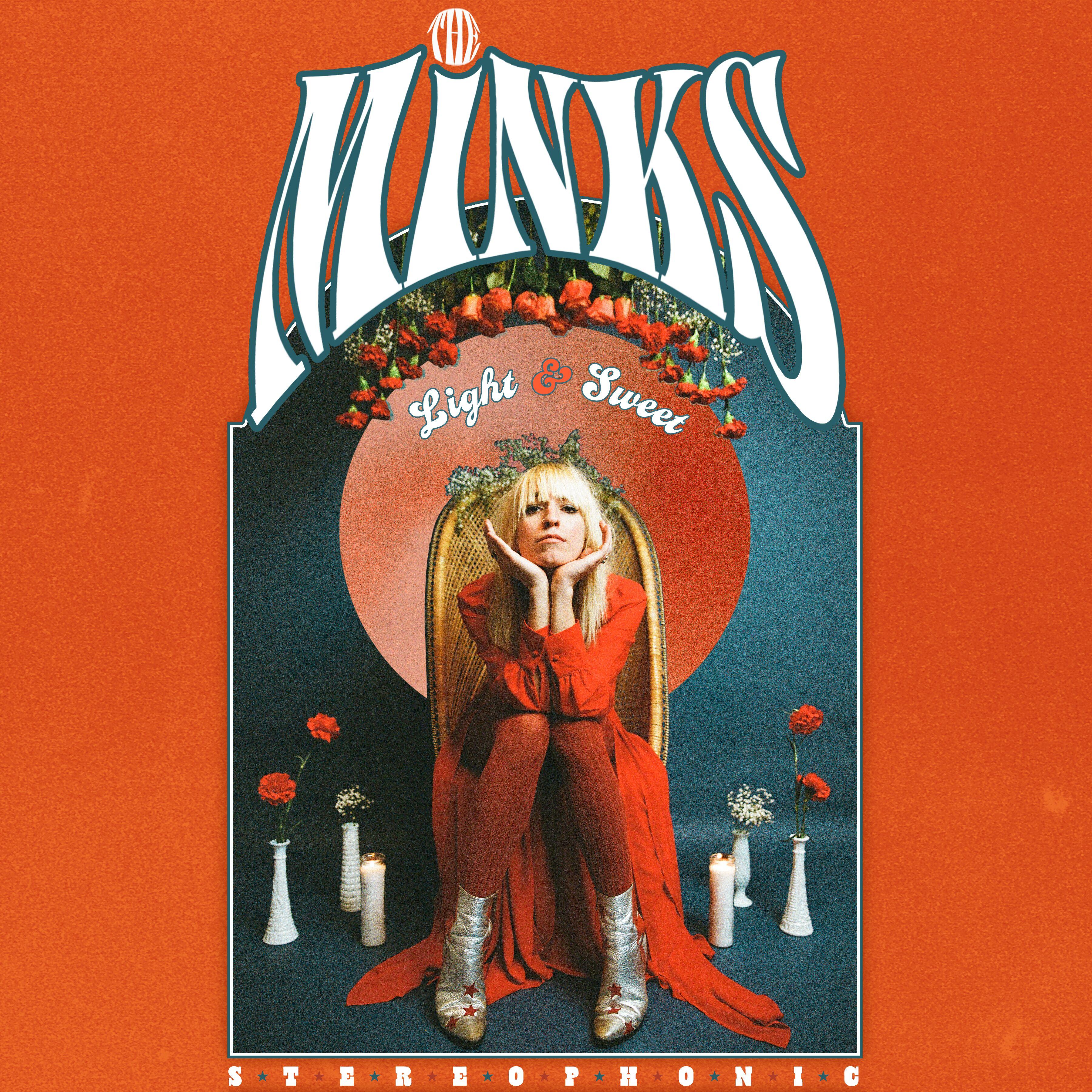 The Minks Album Cover Light & Sweet