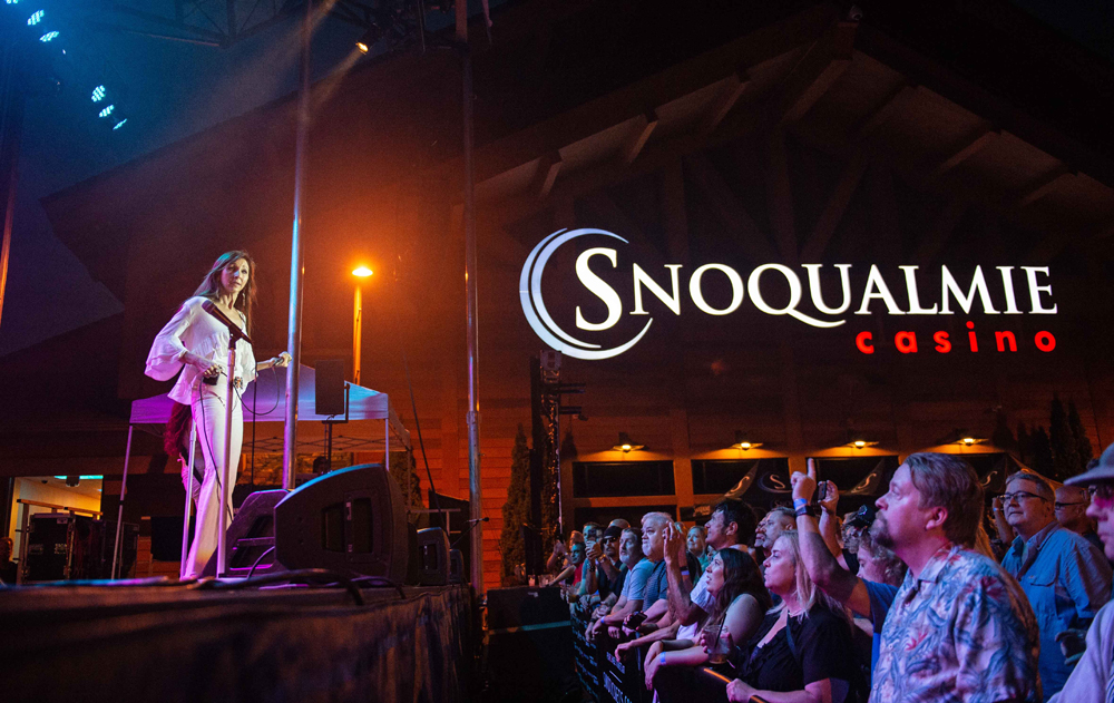 Zepparella at the Snoqualmie Casino on August 30, 2019