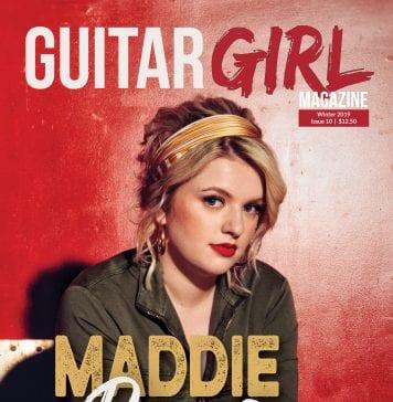 guitar girl magazine cover