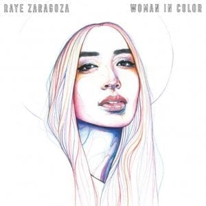 raye zaragoza woman in color album artwork