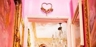 Orianthi promo shot with PRS Gold Custom 24
