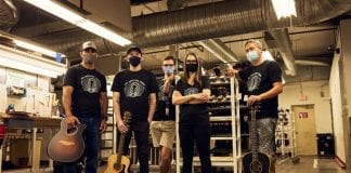 guitar manufacturer employees